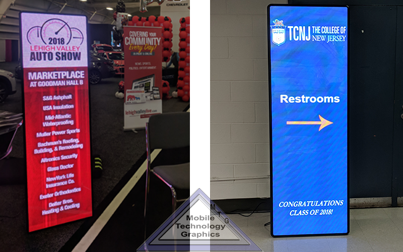 Indoor LED Video Wall Rentals | Mobile Technology Graphics