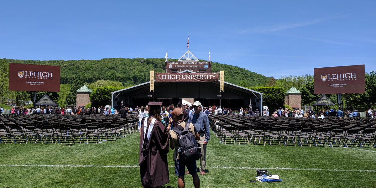 Commencement LED Video Screen Rentals Ann Arbor, Michigan